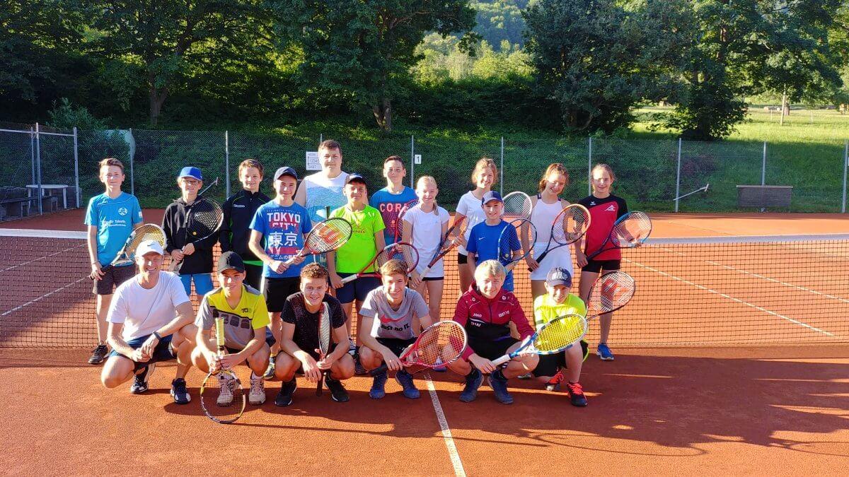 Tennis Kooperation Realschule Abschlussturnier Juli 2019