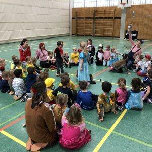 Kinderfasching in der Ballschule 2020