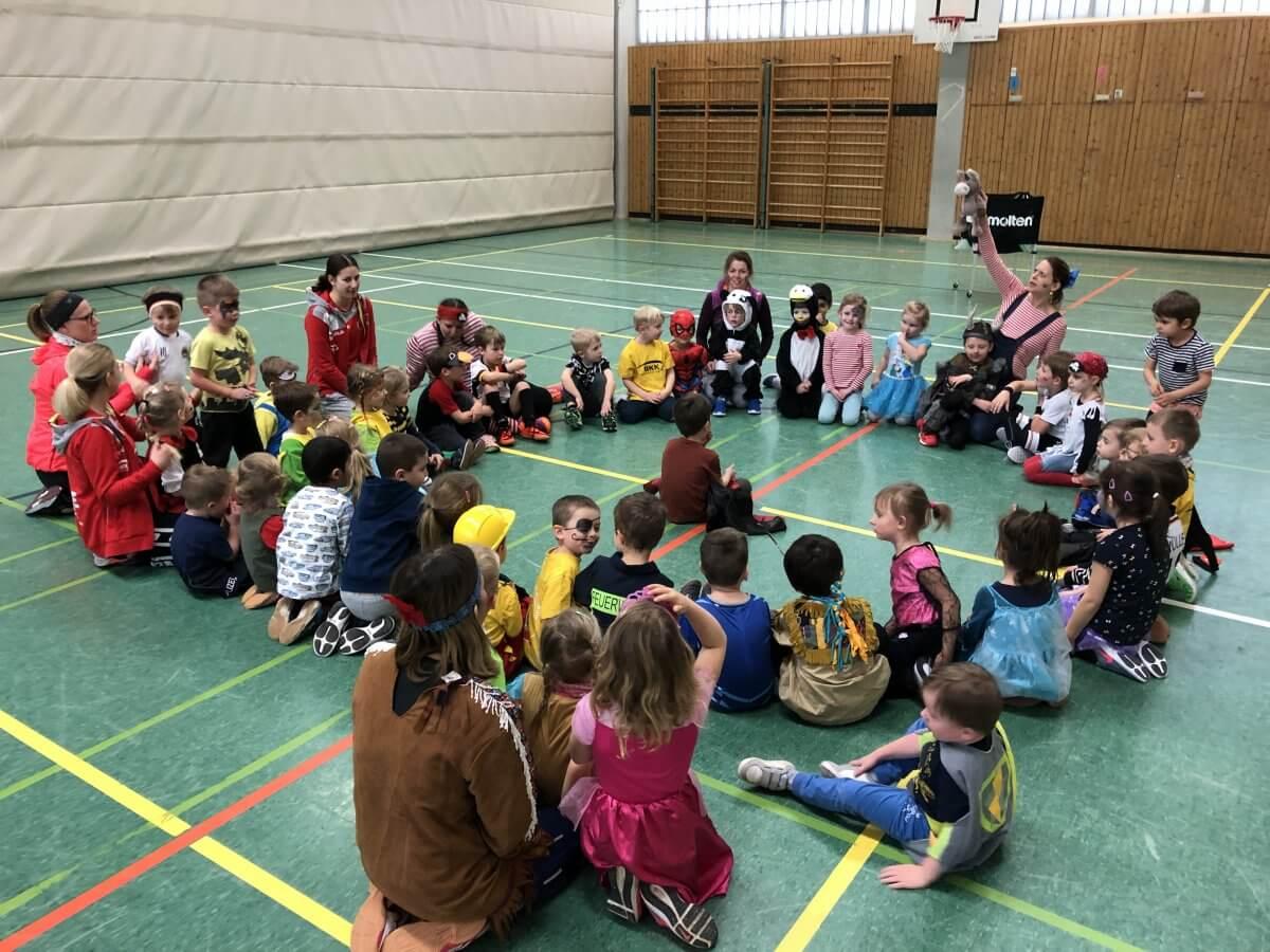 2020 02 19 Faschingstraining In Der Kinderballschule