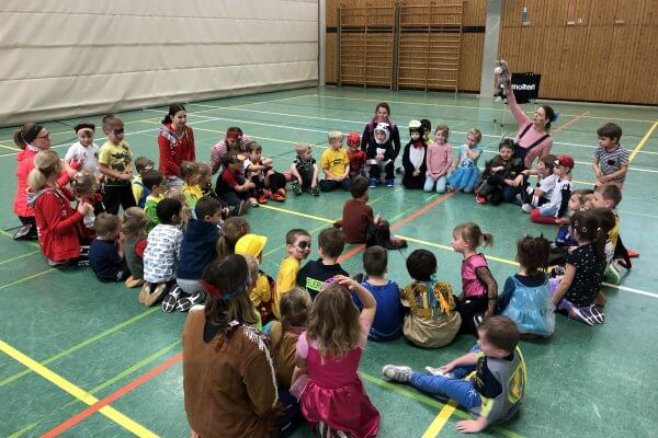 2020 02 19 Faschingstraining In Der Kinderballschule