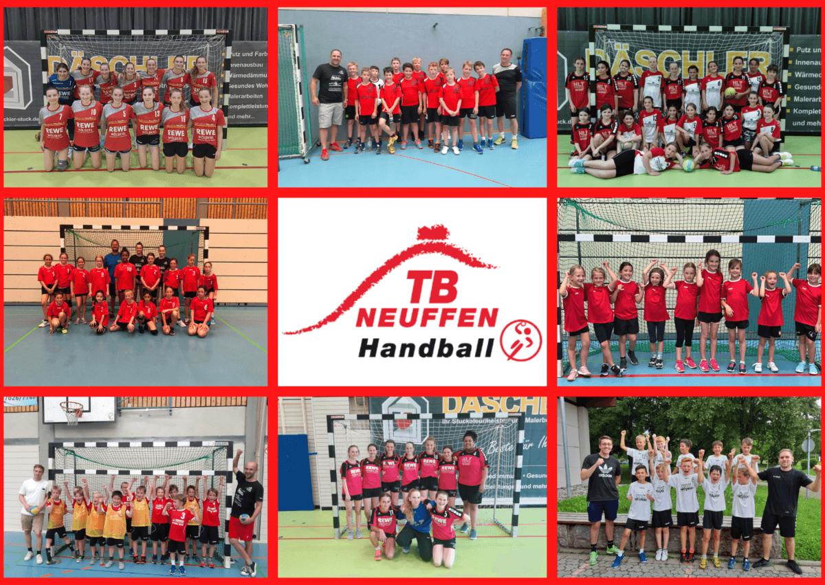 Collage Handball